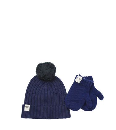 Boys' Hat and Mitten Boxed Set