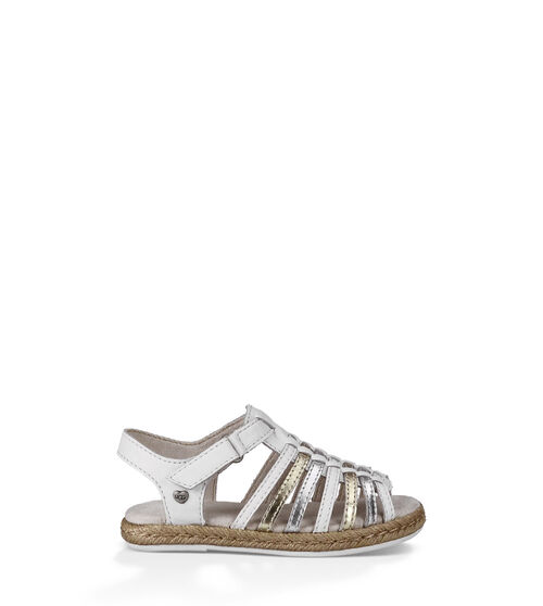 UGG Gretel Kids Sandals White 9