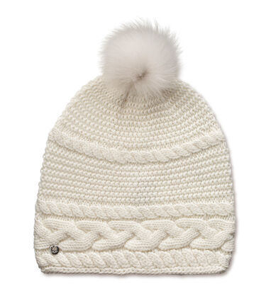 Cable Oversized Beanie