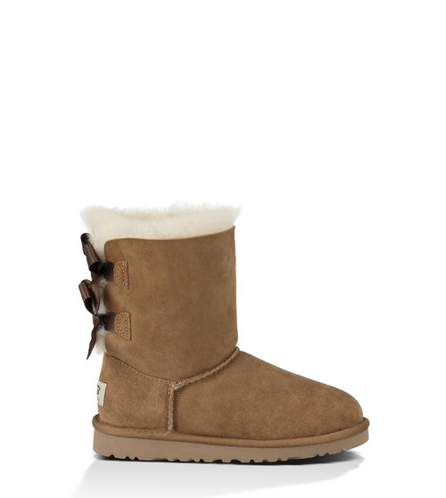 UGG Bailey Bow Kids Classic Boots Chestnut 4