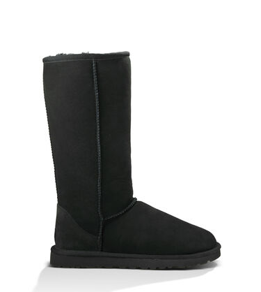 Women's Black Bailey Button Boot Side View
