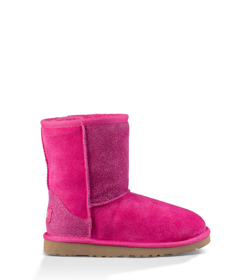 UGG Classic Short Serein Kids Boots Diva Pink 10