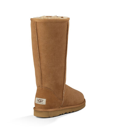 Women's Chestnut Bailey Button Boot Back View