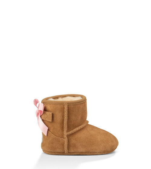 UGG Jesse Bow Infants Booties Chestnut Small (6-12 months)