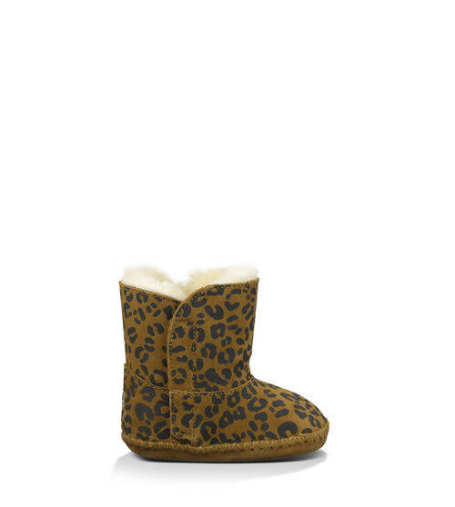 UGG Cassie Leopard Infants Booties Chestnut Leopard Extras Small (0-6 momths)