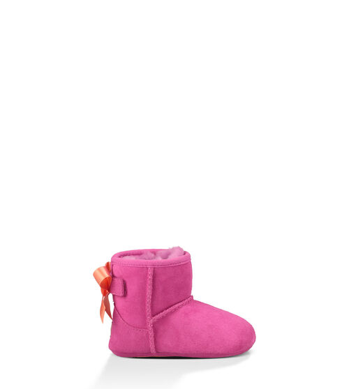 UGG Jesse Bow Infants Booties Princess Pink Extras Small (0-6 momths)