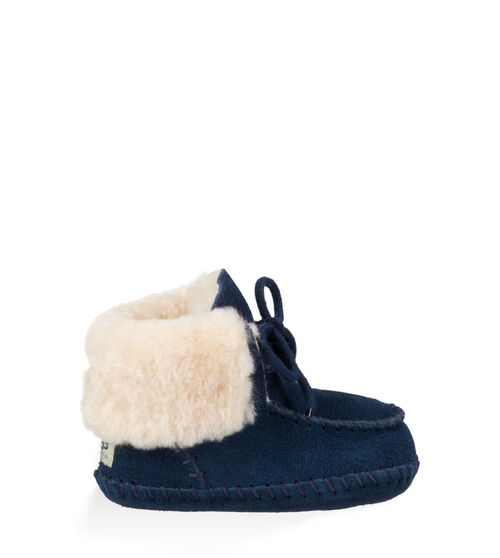 UGG Sparrow Infants Booties New Navy Extras Small (0-6 momths)