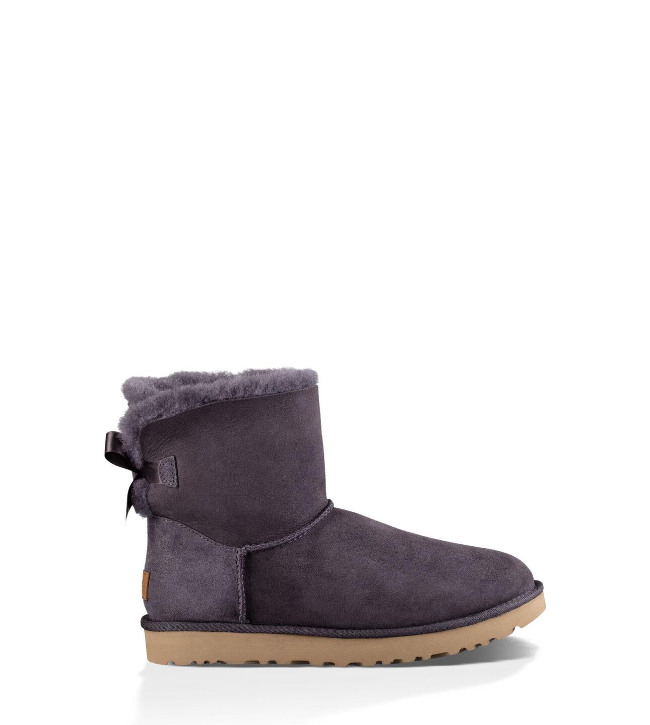 ugg mini bailey bow ii classic mini boots for women ugg uk. Black Bedroom Furniture Sets. Home Design Ideas