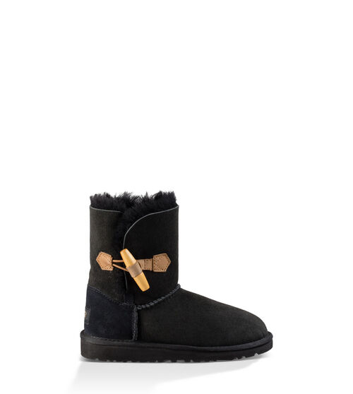 UGG Ebony Kids Classic Boots Black 8