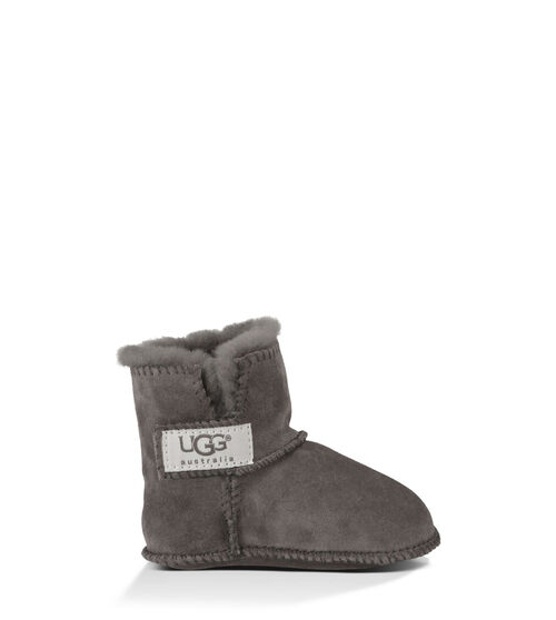 UGG Erin Infants Booties Charcoal Extra Small (0-6 months)