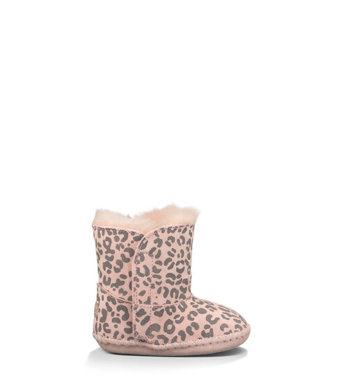 UGG Cassie Leopard Infants Booties Baby Pink Leopard Extras Small (0-6 momths)
