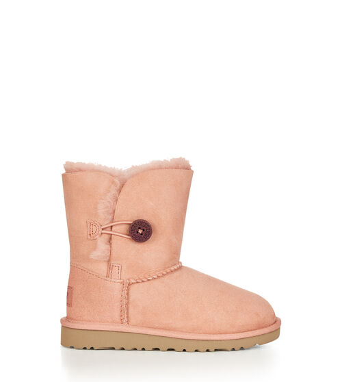 UGG Bailey Button Kids Classic Boots Chemise Pink 9