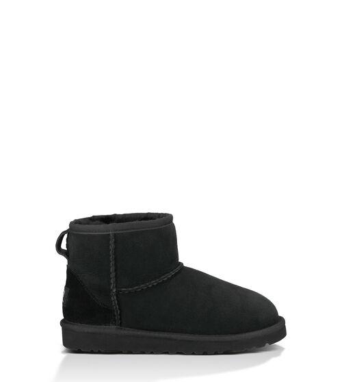 UGG Classic Mini Kids Boots Black 4