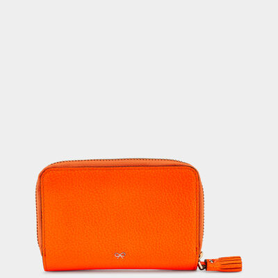 Smiley Compact Wallet in {variationvalue} from Anya Hindmarch