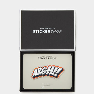 ARGH Sticker by Anya Hindmarch