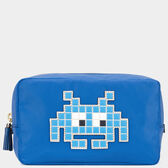 Space Invaders Make-Up Pouch
