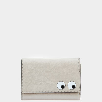 Eyes Trifold Wallet by Anya Hindmarch