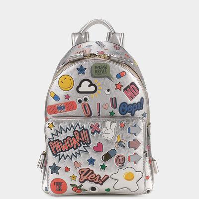All Over Sticker Mini Backpack