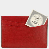Bespoke 2 Sided Flat Card Case in {variationvalue} from Anya Hindmarch