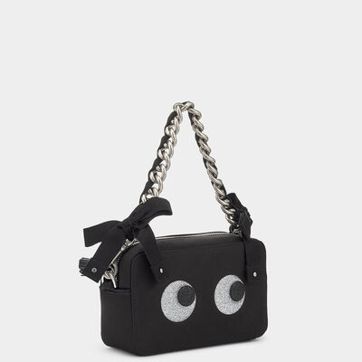 Eyes Chain Clutch by Anya Hindmarch