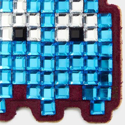 Mini Pac-Man Ghost Diamante Stickers
