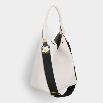 Egg Cotton Shoulder Strap by Anya Hindmarch