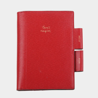 Bespoke A6 Two Way Journal by Anya Hindmarch