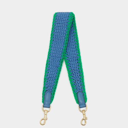 Crochet Shoulder Strap by Anya Hindmarch