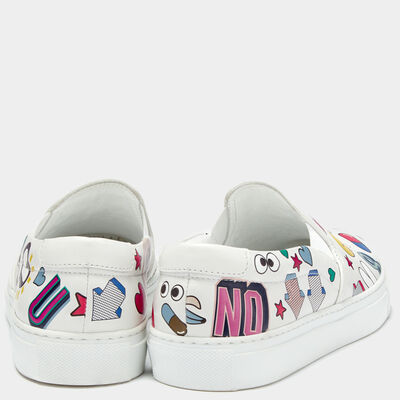 All Over Sticker Skater by Anya Hindmarch