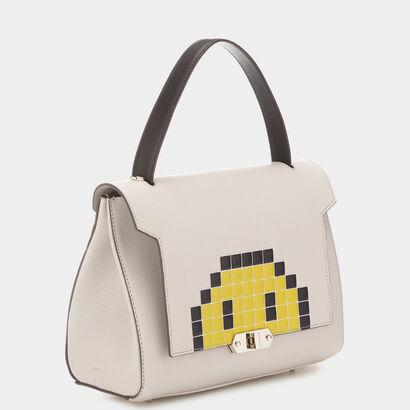 Pixel Smiley Small Bathurst Satchel