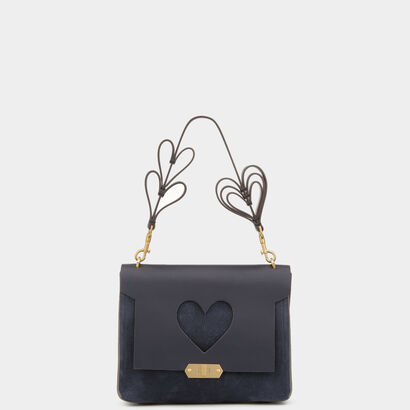 Heart Extra-Small Bathurst Satchel by Anya Hindmarch