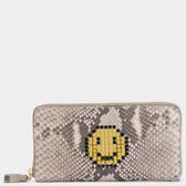 Large Zip-Around Wallet