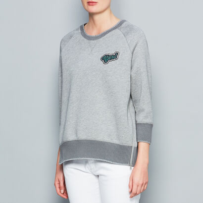Yes sweatshirt in {variationvalue} from Anya Hindmarch
