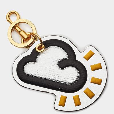 Cloud Key Ring by Anya Hindmarch