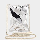 18ct White Gold Crisp Packet Clutch