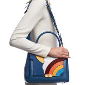 Silver Cloud Bathurst Satchel by Anya Hindmarch