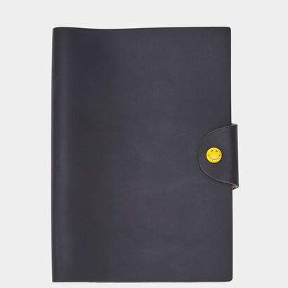 Smiley A5 Journal by Anya Hindmarch