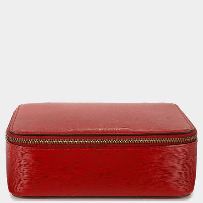 Bespoke Travelling Jewel Case in {variationvalue} from Anya Hindmarch