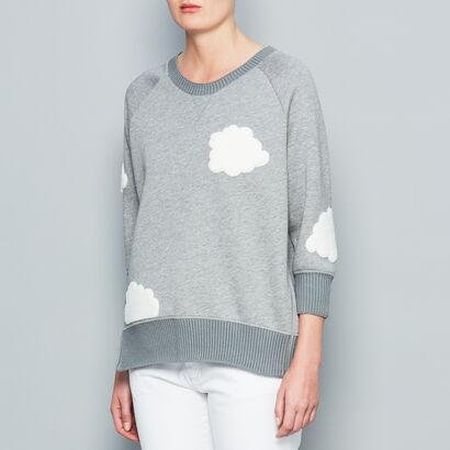 Cloud Sweatshirt in {variationvalue} from Anya Hindmarch