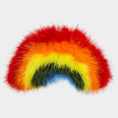 Rainbow Mink Sticker by Anya Hindmarch