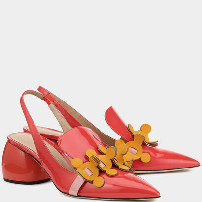 Apex Sling Back Pumps by Anya Hindmarch