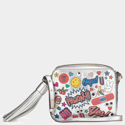 All Over Stickers Cross-Body by Anya Hindmarch