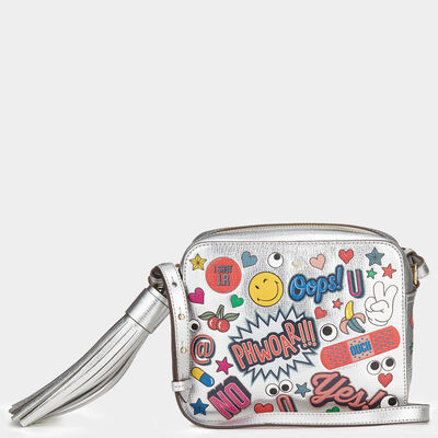 All Over Stickers Crossbody by Anya Hindmarch