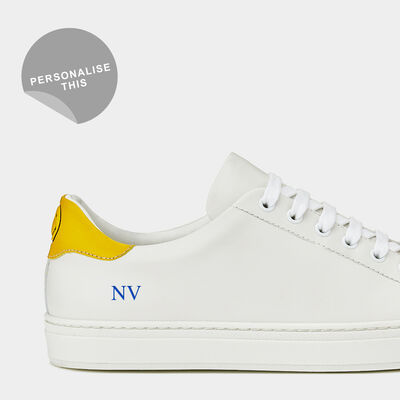 Smiley Wink Sneakers by Anya Hindmarch