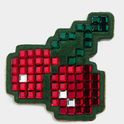 Cherry Diamante Sticker in {variationvalue} from Anya Hindmarch