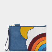 Cloud Zip-Top Pouch by Anya Hindmarch