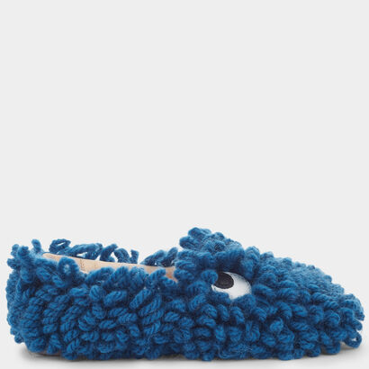 Shag Shop Loafers by Anya Hindmarch