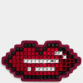 Lips Diamante Sticker in {variationvalue} from Anya Hindmarch