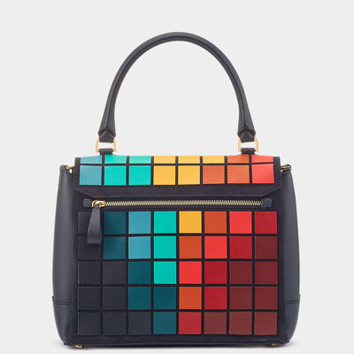 Giant Pixels Small Bathurst Satchel by Anya Hindmarch