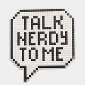 Oversized Talk Nerdy to Me Sticker